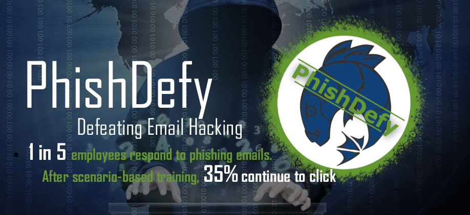PhishDefy - Stop Email Hacking with CPCyber Cybersecurity Experts Denver, CO